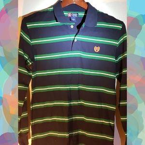 Men's Chaps Longsleeve Polo Shirt